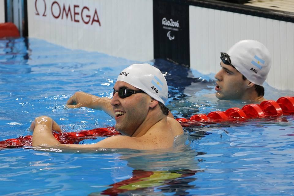 Natación: tres diplomas paralímpicos para Argentina