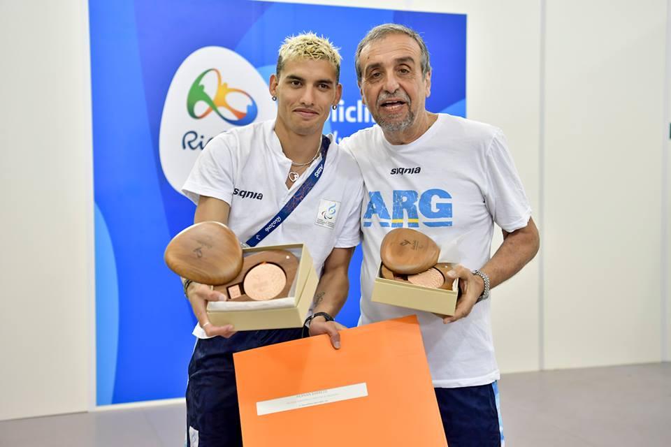 Hernán Barreto y Oscar De Luca (presidente de Fadepac).