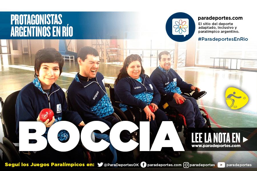 Boccia: El equipo que sorprendió en Río