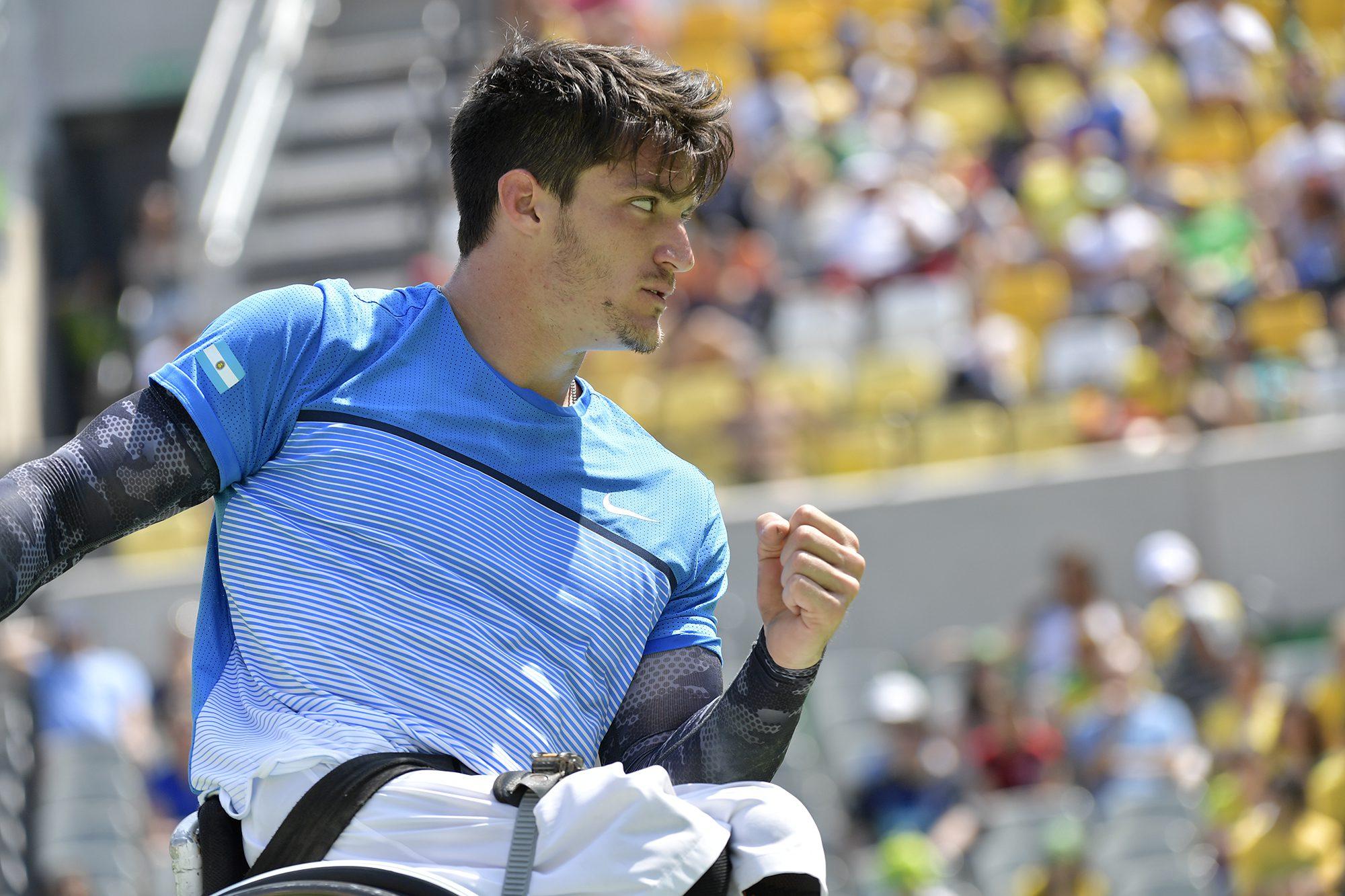 Tenis adaptado: Gustavo Fernández se prueba en Bath antes del Master