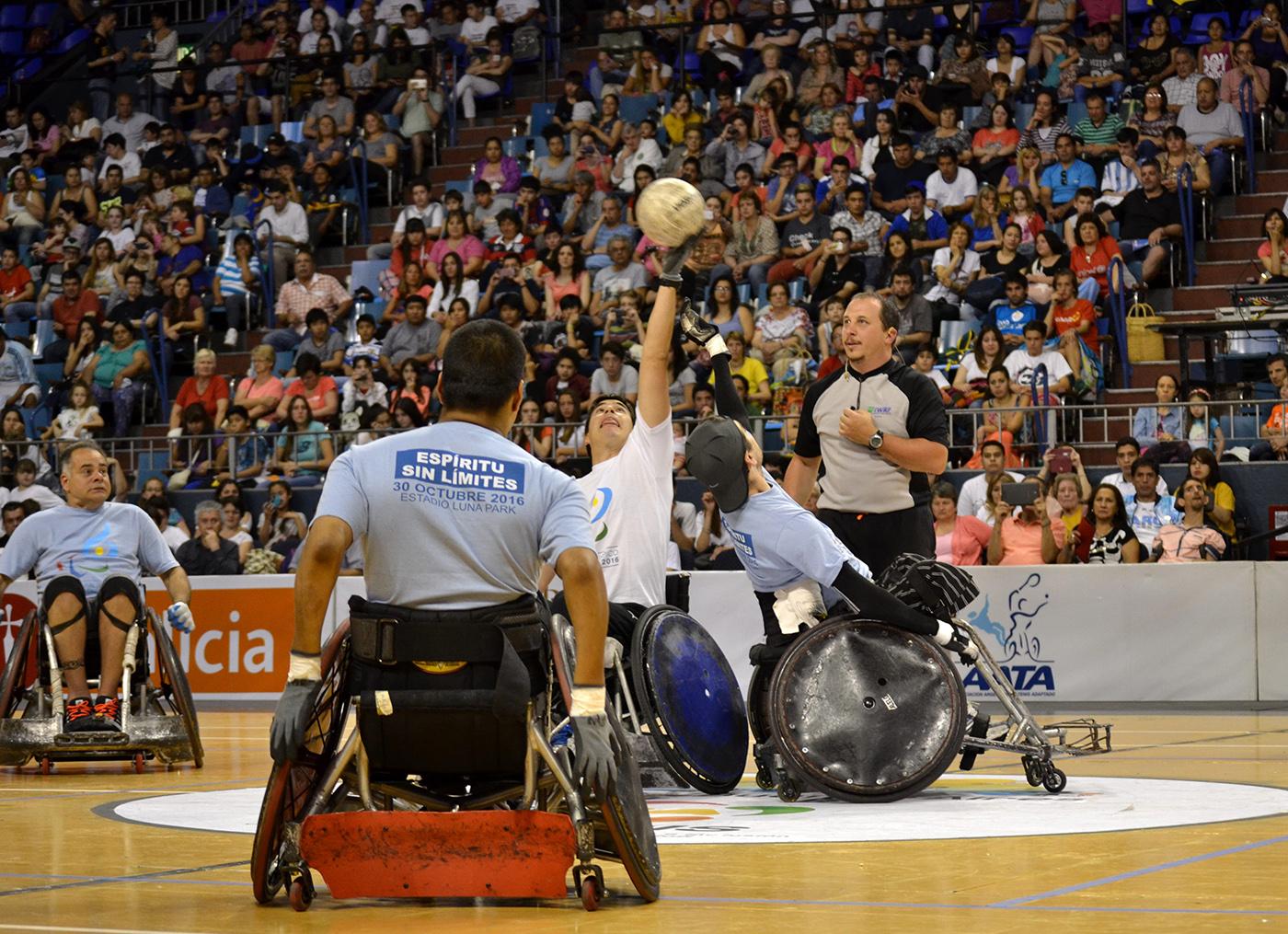 El 3er. Día Paralímpico fue una fiesta en el Luna Park