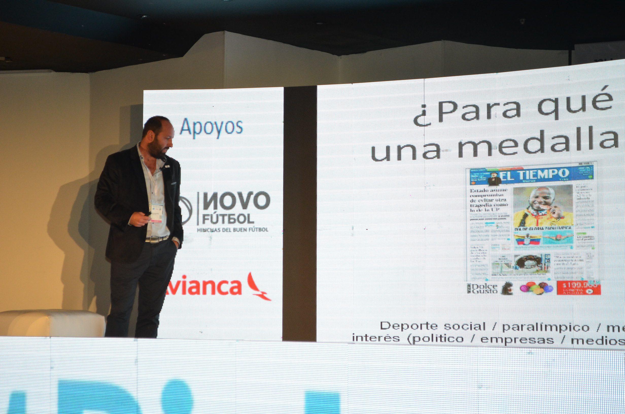 Paradeportes, en el 3er. Congreso de Sports Business en Colombia