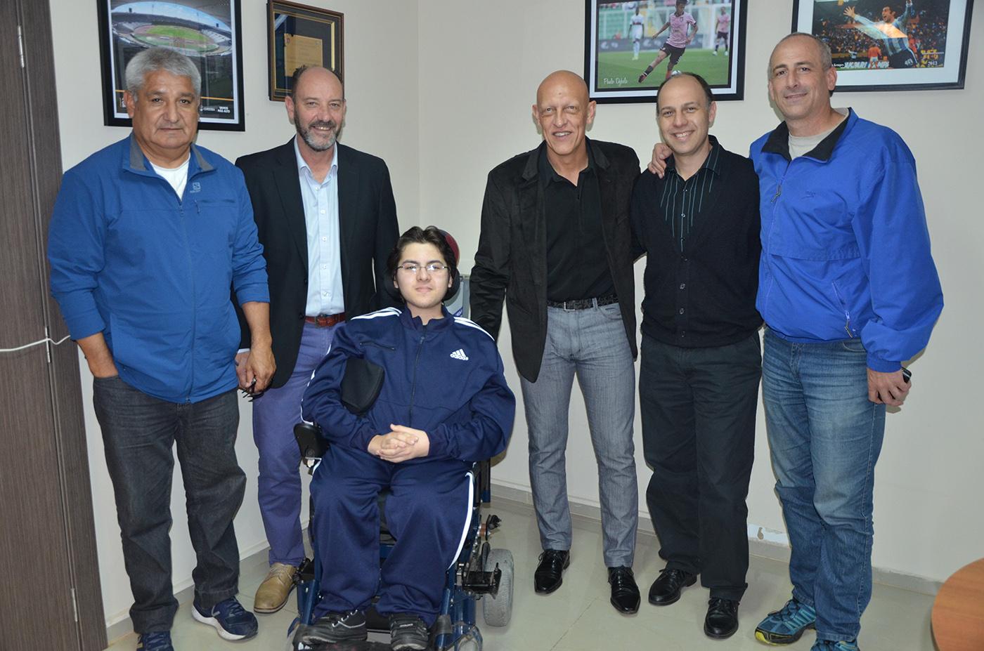 Powerchair football: la Selección Argentina viaja a Francia