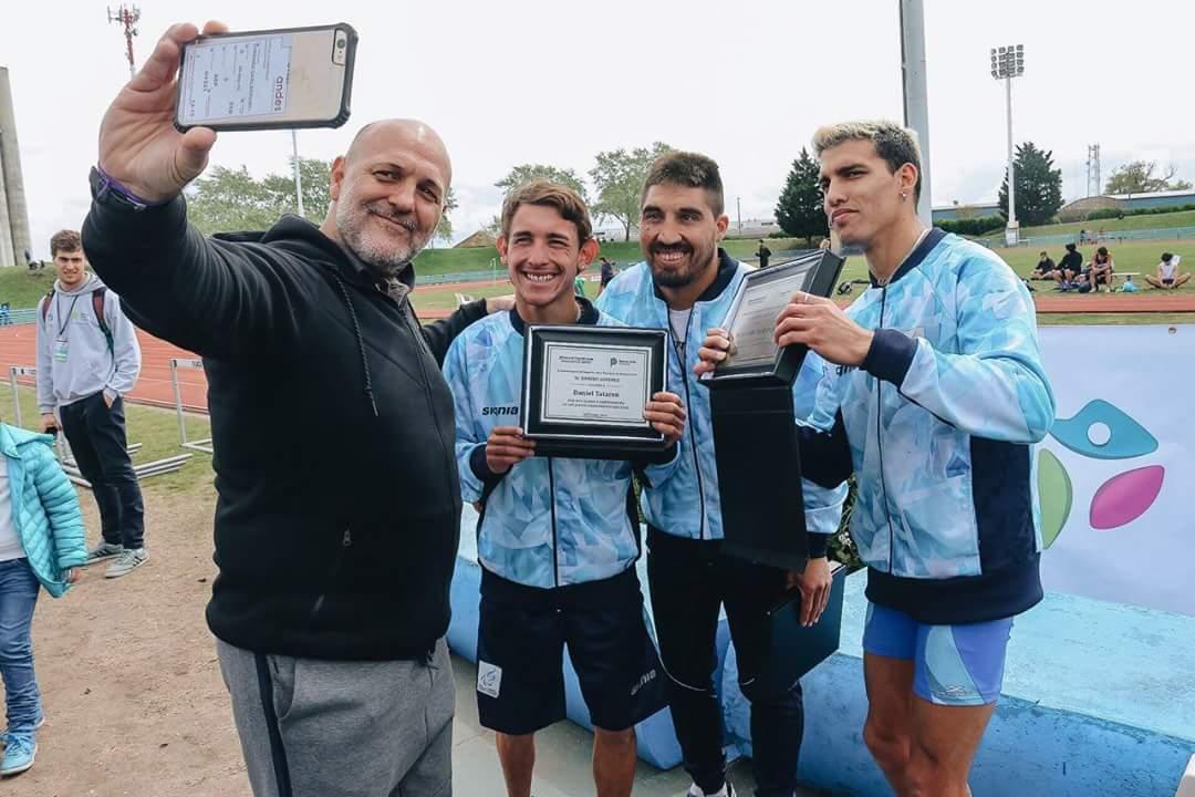 Hernán Barreto, homenajeado en los Juegos Bonaerenses