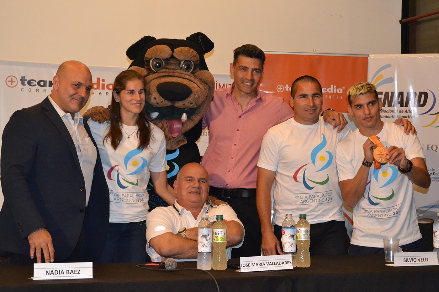 Con la presencia de Silvio Velo, Hernán Barreto y Nadia Baez, se realizó la presentación del 3er. Día Paralímpico en el Luna Park
