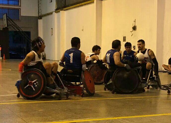 Quad Rugby: Comenzó el cuadrangular internacional