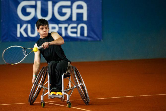 Tenis adaptado: Casco, Pralong y Scarazzini, semifinalistas en Brasil
