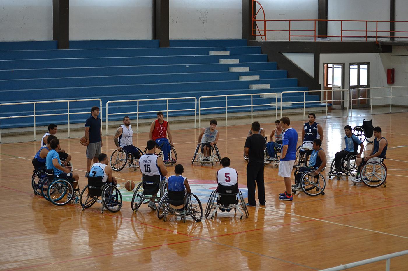 Básquet en silla de ruedas: Argentina se prueba contra Uruguay