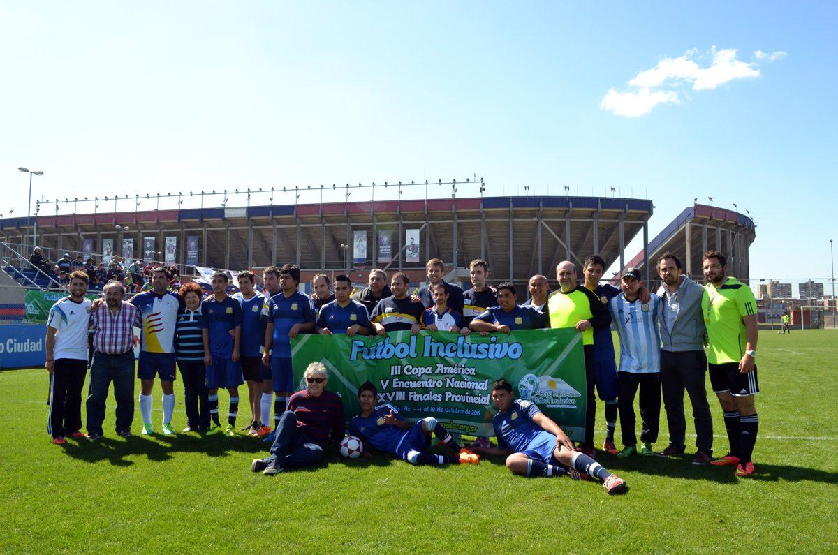 La final de la Liga Inclusiva se jugará en San Lorenzo