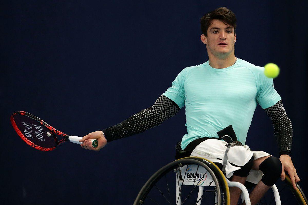 Tenis adaptado: Fernández no pudo ante el campeón paralímpico