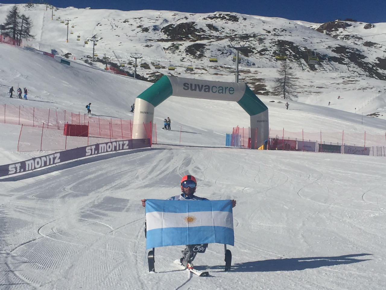 Ski adaptado: Plantey marcha top ten en la Copa del Mundo