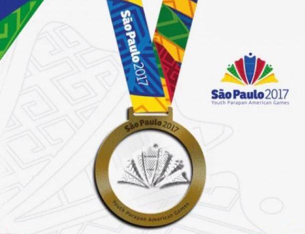 Así son las medallas de São Paulo 2017