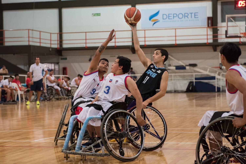 Básquet adaptado: Argentina logró un cómodo triunfo ante Chile