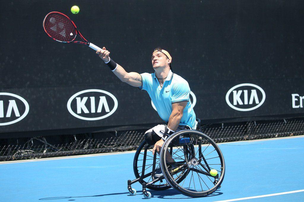 Tenis adaptado: ¡Gustavo Fernández, también finalista en el dobles del Abierto de Australia!