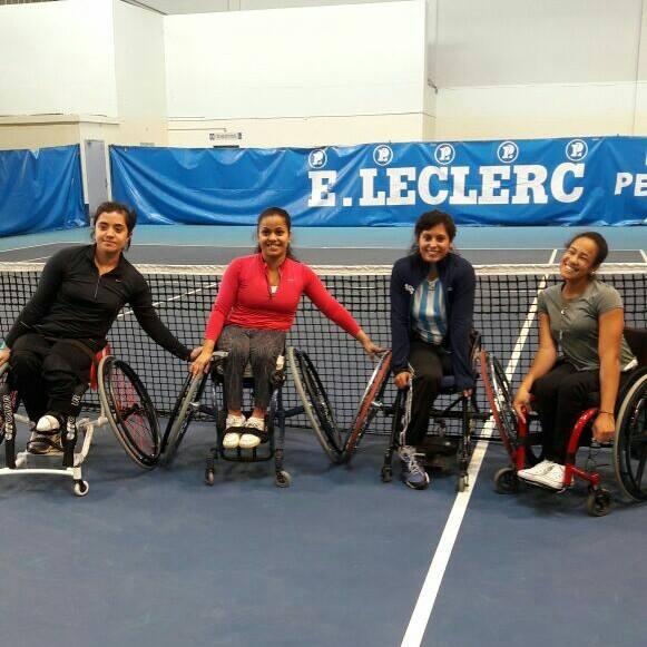 Tenis adaptado: Antonella Pralong arrancó el Master Junior con un triunfo