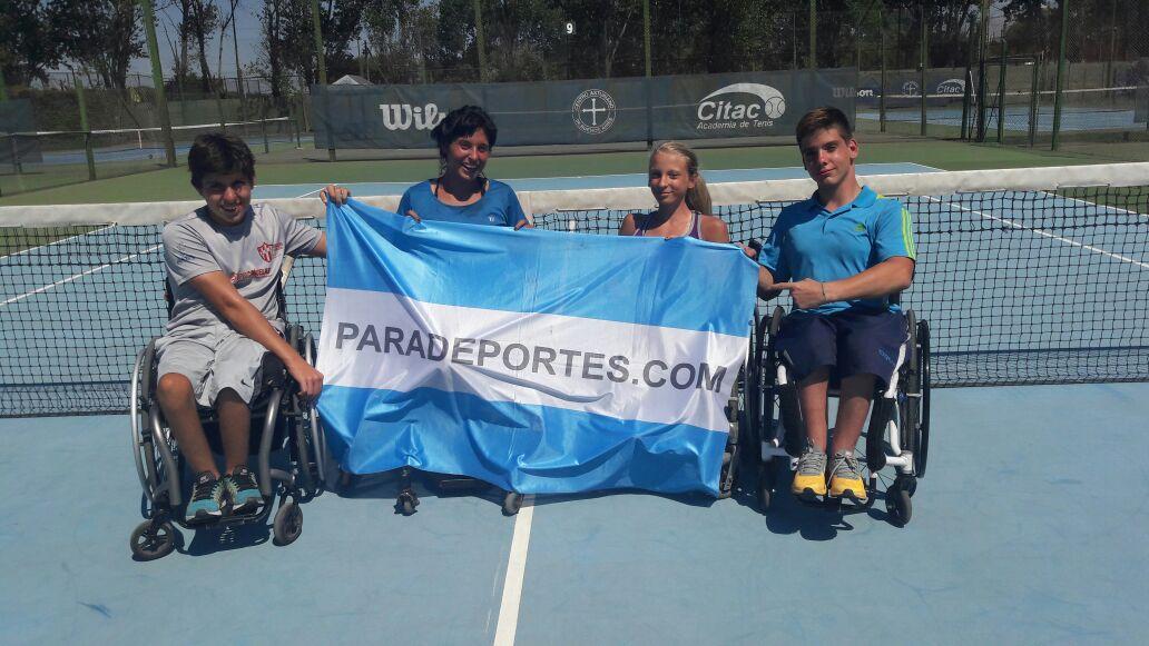 Tenis adaptado: Argentina ya tiene equipo para São Paulo 2017
