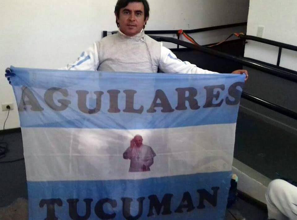 Esgrima paralímpica: Luis Alarcón, reciente campeón local, sueña con Tokio