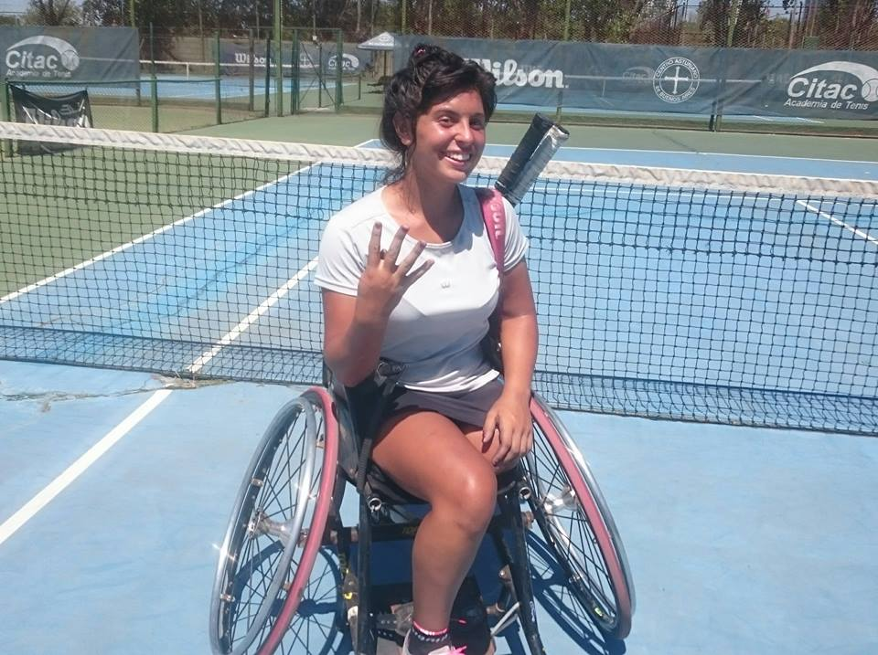 Tenis adaptado: Antonella Pralong, cuádruple campeona del Zúñiga