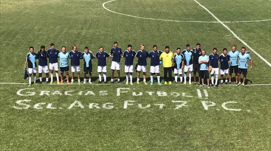 Fútbol 7: Los Tigres dejaron su huella en Bolívar