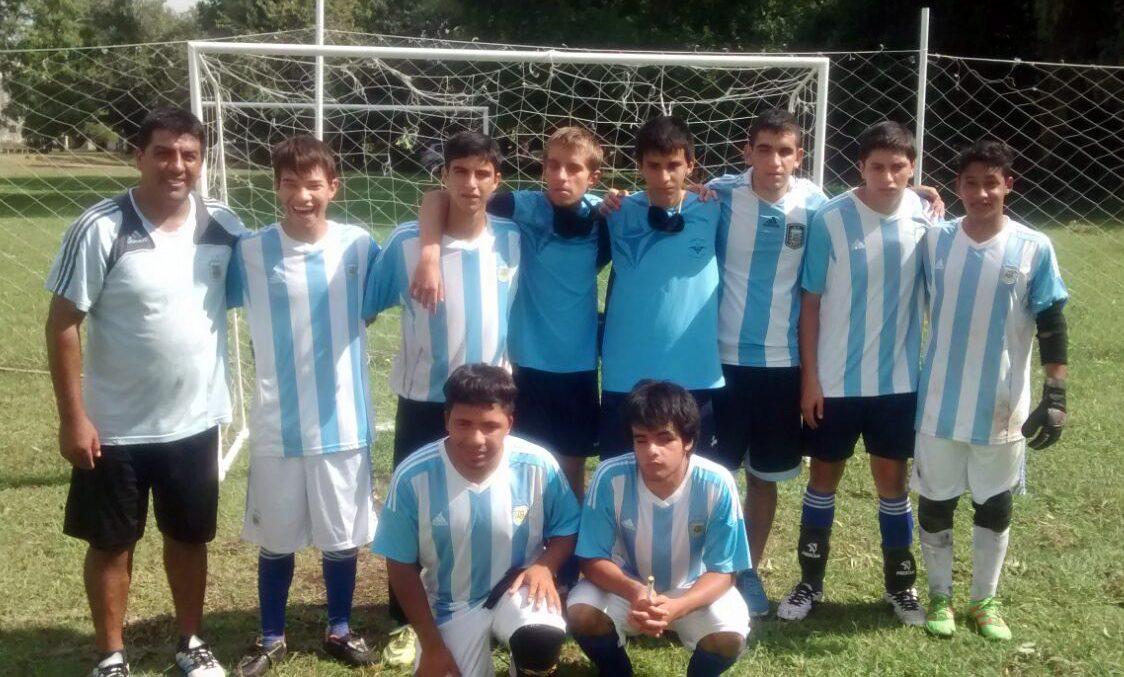 Fútbol para ciegos: nueva exhibición de Los Murcielaguitos