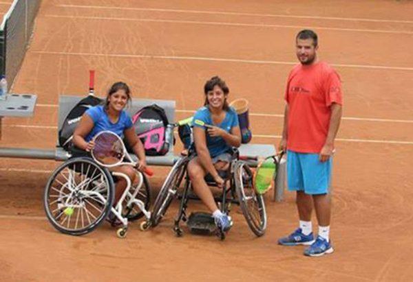 Tenis adaptado: Pralong y Moreno, semifinalistas en Ecuador