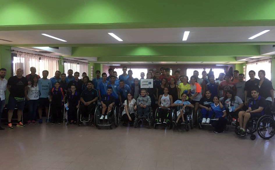 Una charla sobre dopaje para los atletas que viajaron a San Pablo
