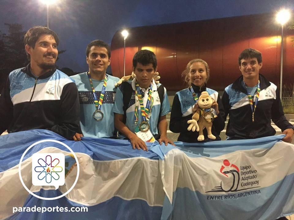 Atletismo: seis medallas para Argentina en el primer día de competencia