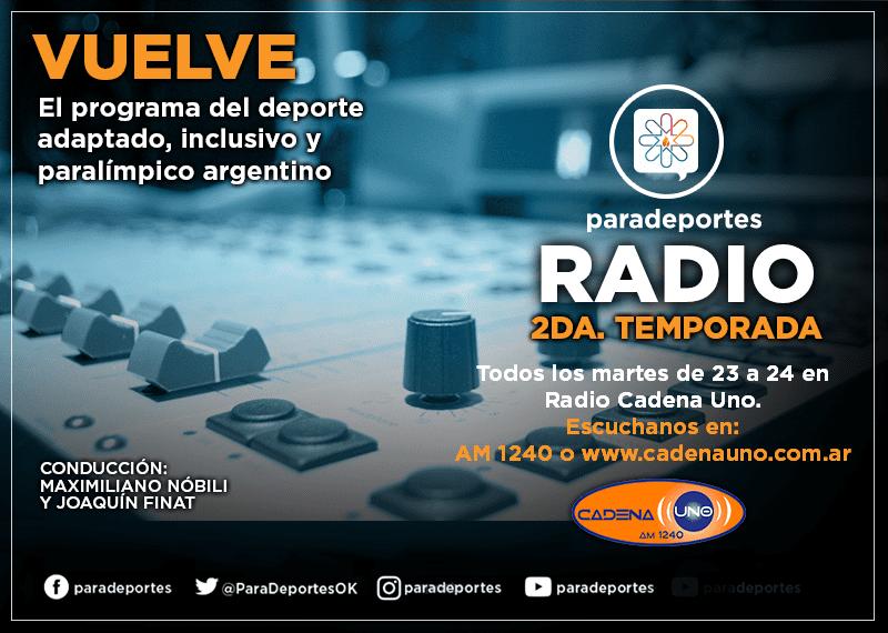 ¡Vuelve Paradeportes Radio!