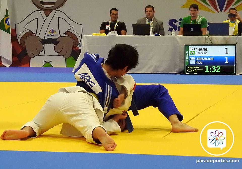 Judo: Rocío Ledesma se quedó con la dorada