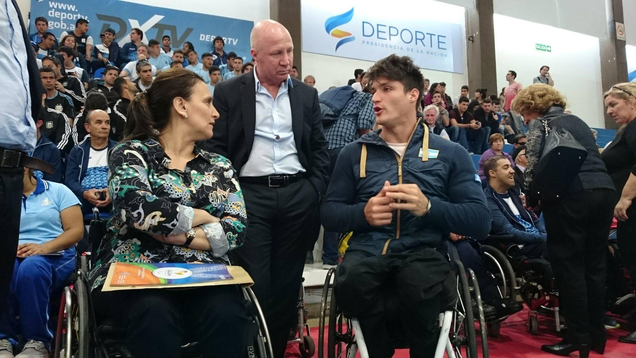 Michetti y Mac Allister recibirán a la delegación parapanamericana juvenil