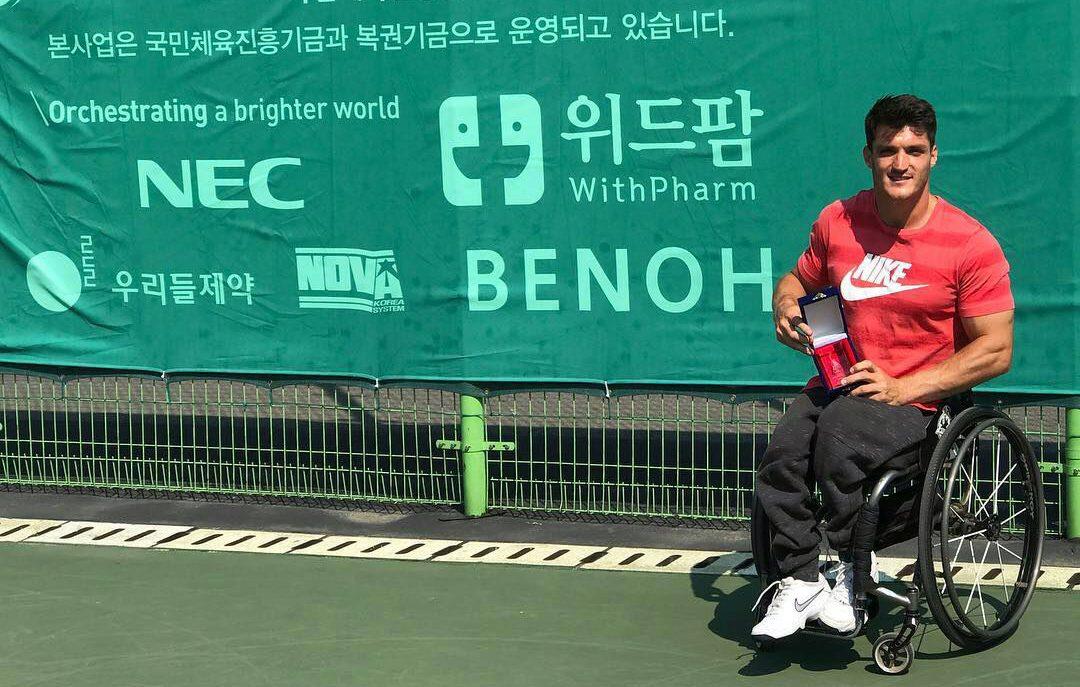 Tenis adaptado: Gustavo Fernández, campeón en Corea