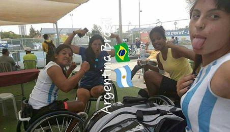 Tenis adaptado: final Argentina-Brasil en Israel