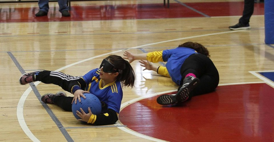 Goalball: la preselección femenina se concentra en el Instituto Rosell