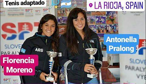 Tenis adaptado: Moreno y Pralong, campeonas en España