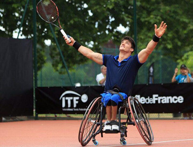 Tenis adaptado: Gustavo Fernández, campeón en Francia y nuevo Nº 2 del mundo
