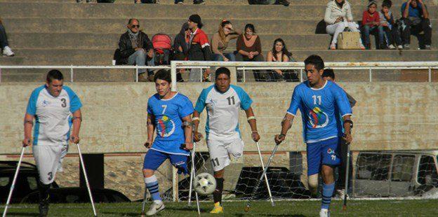 Fútbol para amputados: comienza la Liga Nacional