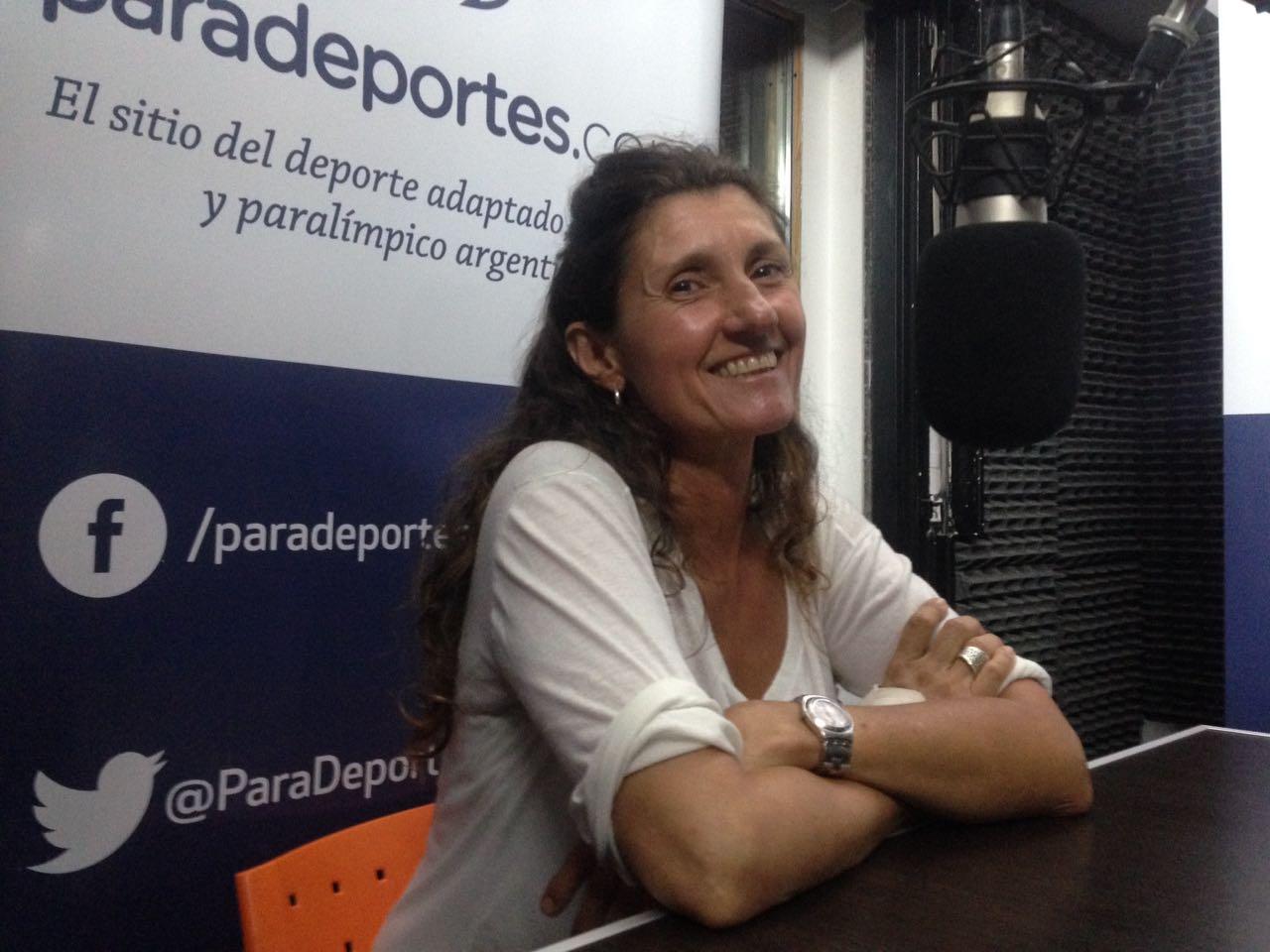 """Laura Cometto en Paradeportes Radio: """"En Lima 2019 habrá un equipo argentino de paravóley"""""""