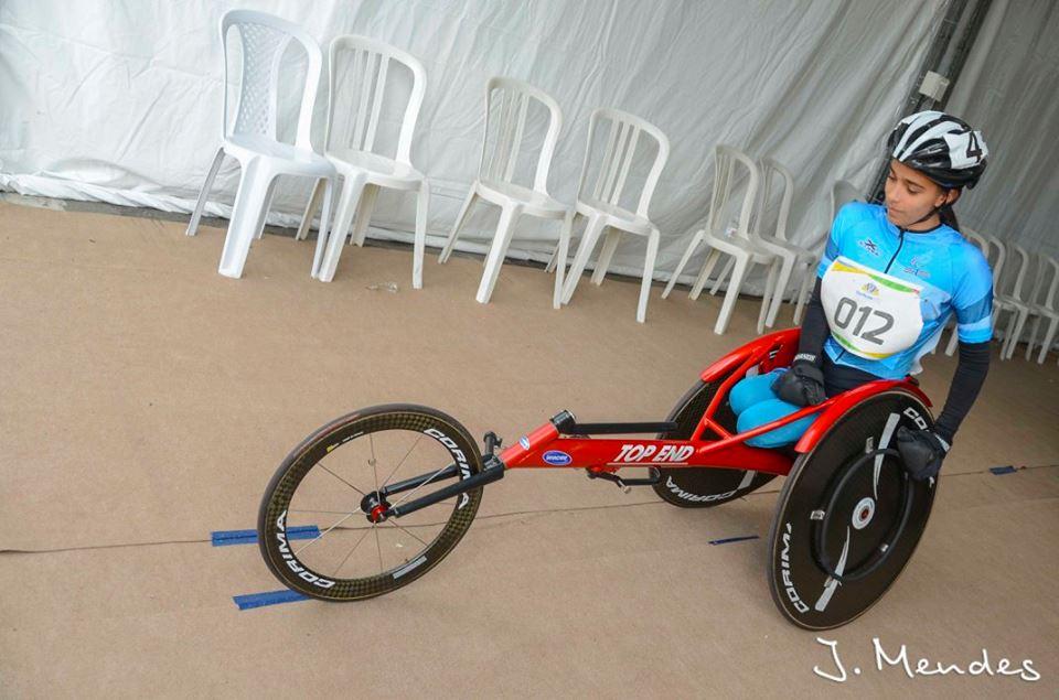 Lucía Montenegro, de atleta juvenil a proyección paralímpica