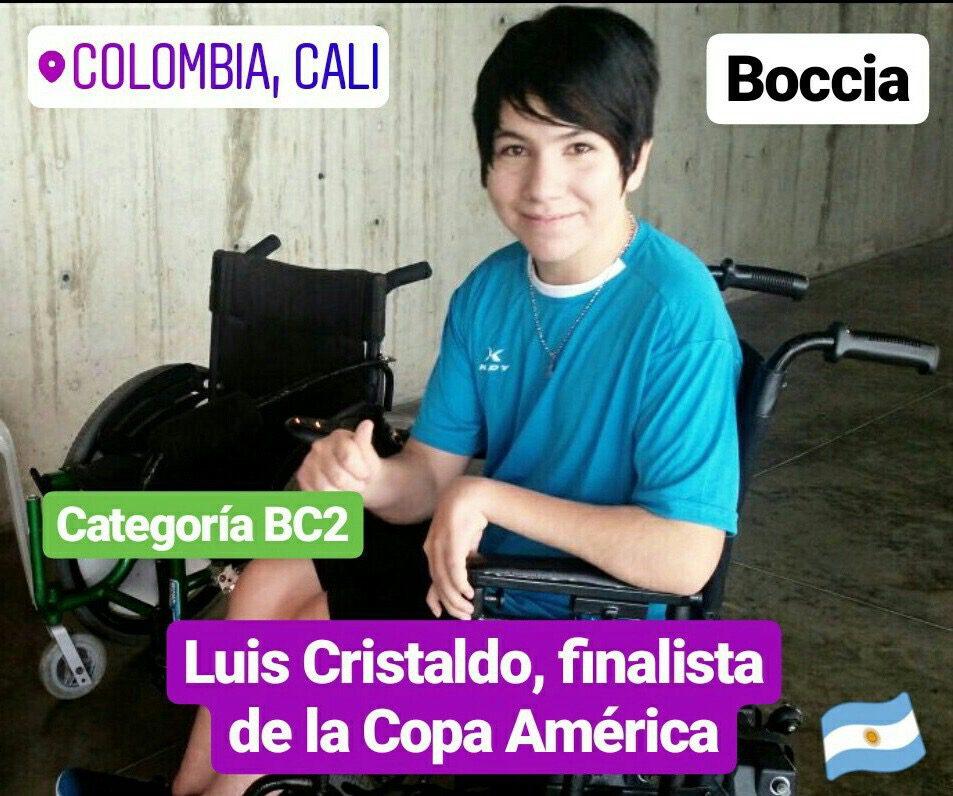 Boccia: cinco argentinos en cuartos de final de la Copa América
