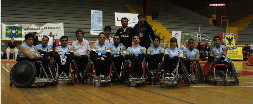 Quad rugby: Argentina debuta en el Parapanamericano de Paraguay