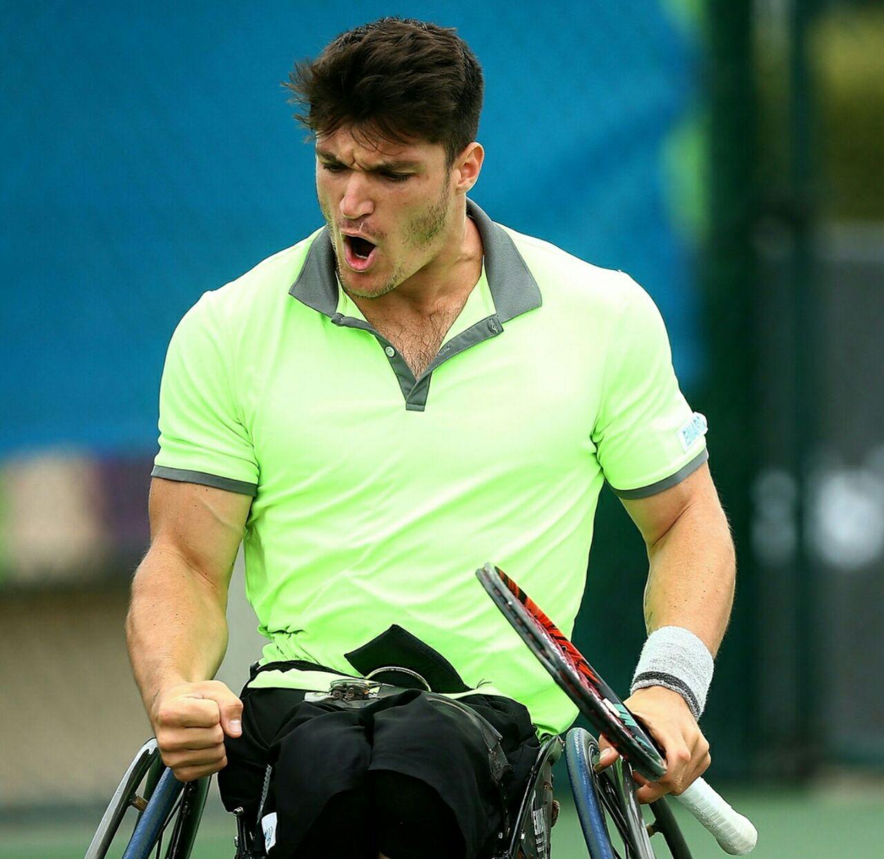 Tenis adaptado: Gustavo Fernández, finalista del dobles en el British Open