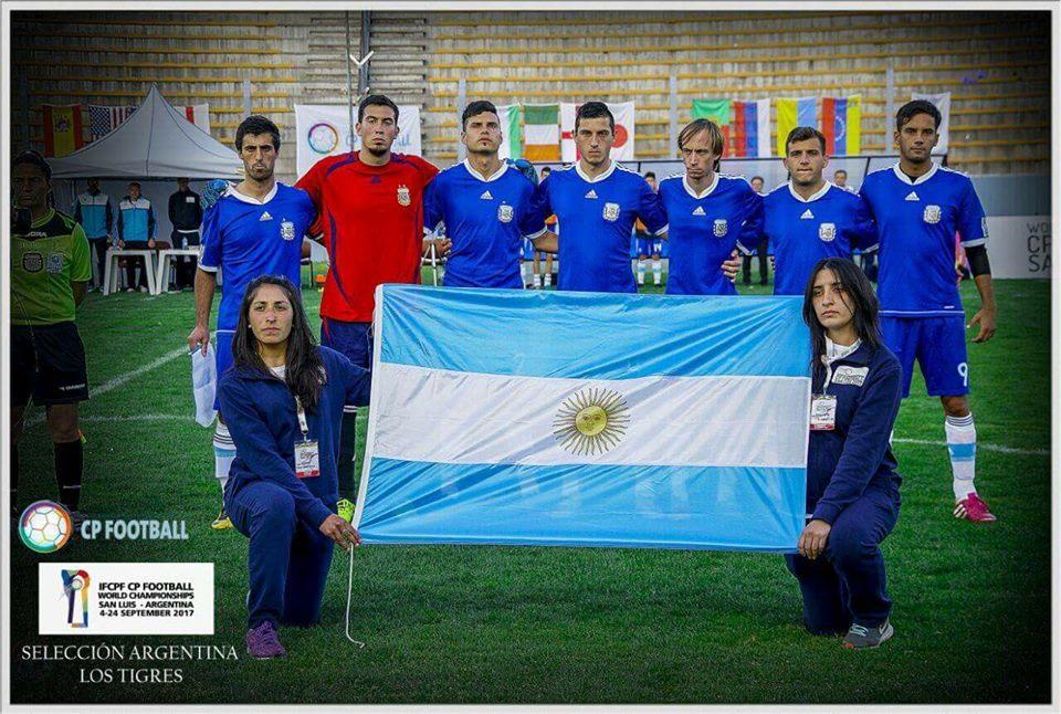 Mundial de fútbol 7: Argentina goleó a España