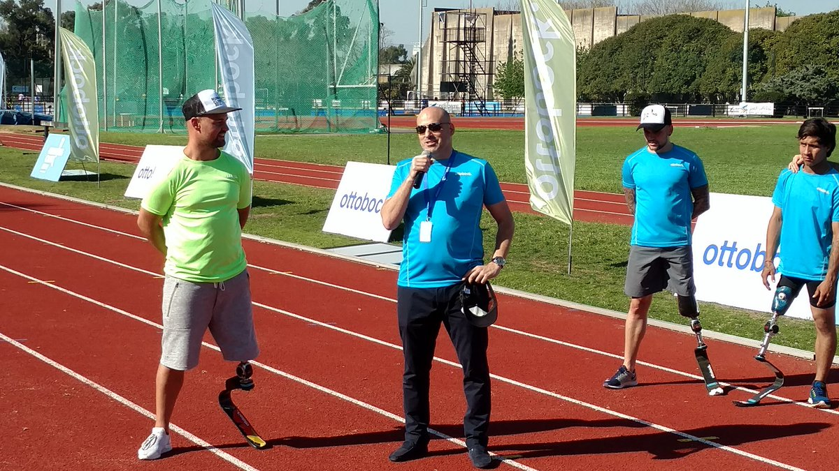 Ottobock cerró su Running Clinic con una exhibición en el CENARD