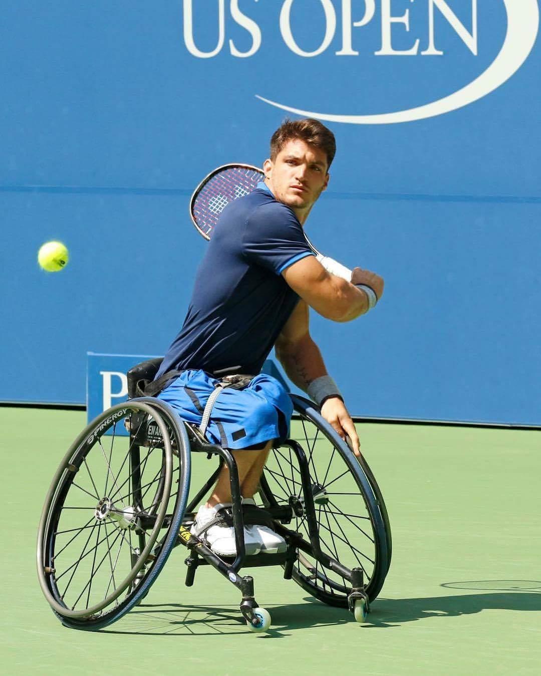 Tenis adaptado: Gustavo Fernández llegó hasta semifinales del US Open