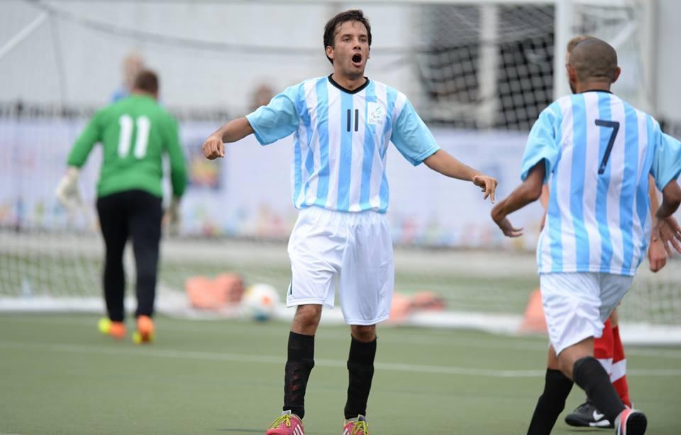 Fútbol 7: Argentina debutó con una victoria en el Mundial de San Luis