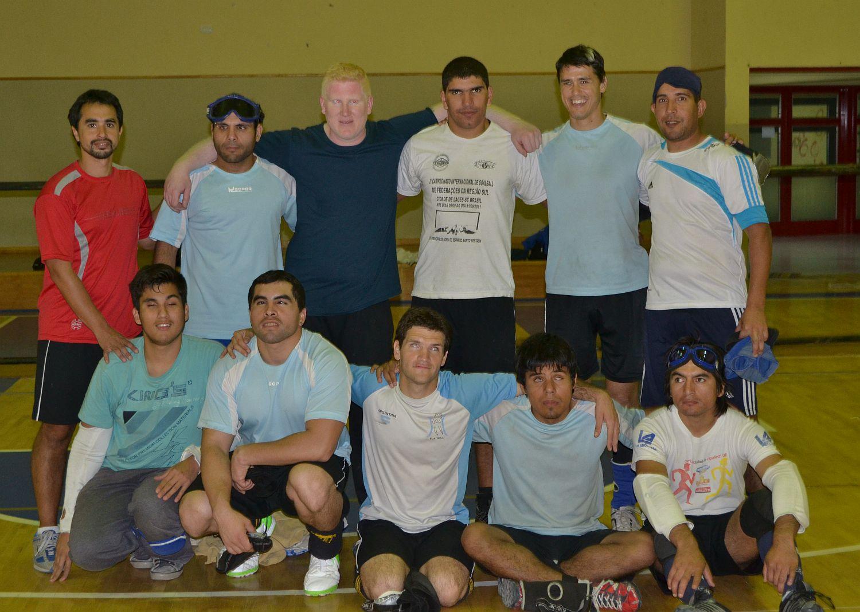 Goalball: la Selección se prueba en Brasil
