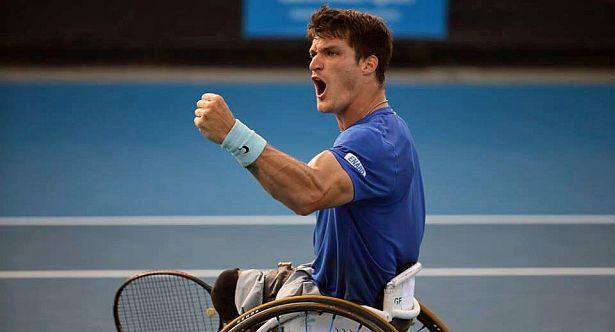 Tenis adaptado: Gustavo Fernández, semifinalista del US Open