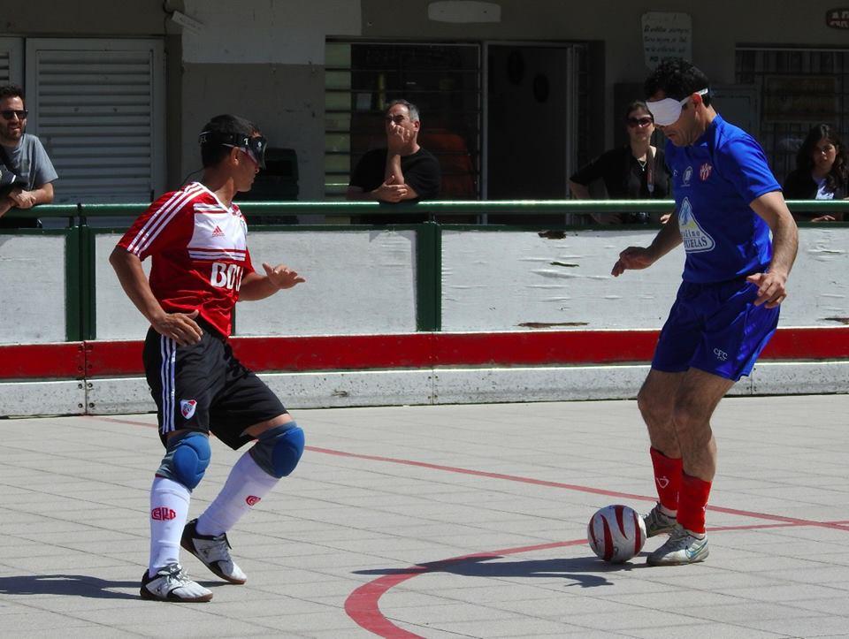 Fútbol para ciegos: Huracán, el cuarto clasificado