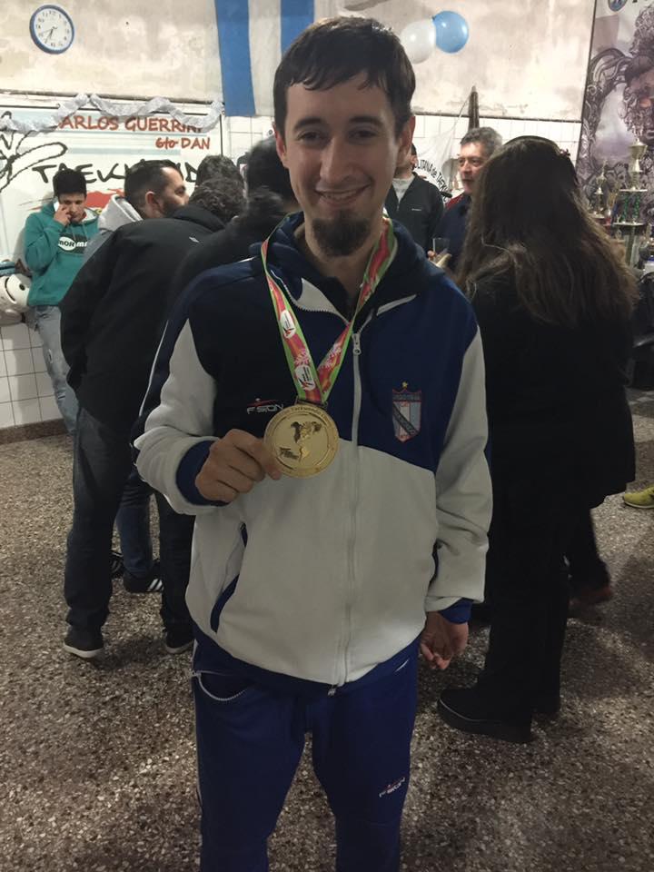 Para-taekwondo: Novik, entre los mejores del mundo