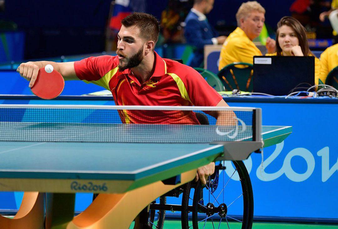 Tenis de mesa adaptado: Gabriel Copola apunta a Costa Rica